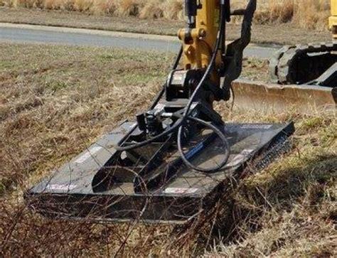 mini excavator brush cutter mini excavator