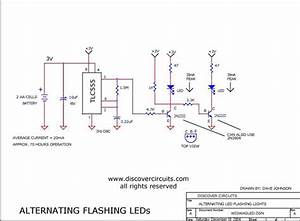 Wig  Wag Led Flasher - Led And Light Circuit