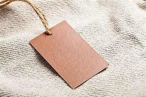cloth label blank brown tag business photos on creative With blank clothing labels