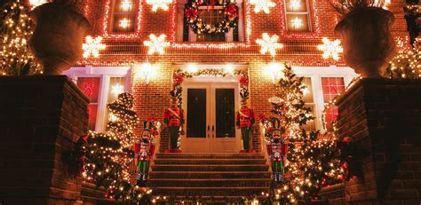 dyker heights lights in a slice of