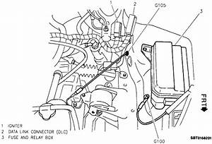Where Is The Electronic Ignition Module On A 1995 Geo