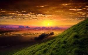 sunrise, glory, wallpapers