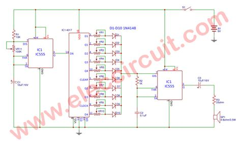 Sound Effect Generator Circuit Eleccircuit