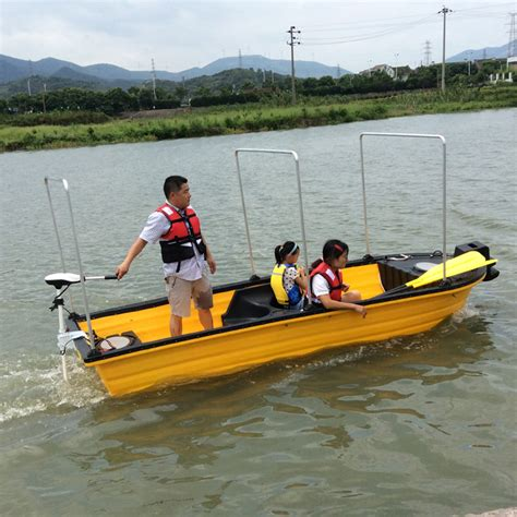 Plastic Fishing Boats by Plastic Boat For Fishing And Recreation Rescue Boat Never