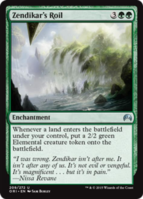 mtg landfall deck modern nissa s magic the gathering