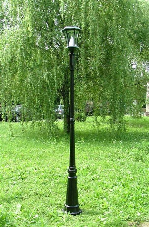 ft solar lamp post light gs