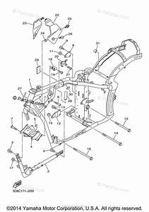 Yamaha Motorcycle 2015 Oem Parts Diagram For Frame