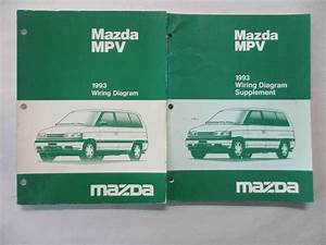 1993 Mazda Mpv Electrical Wiring Diagram Service Manual