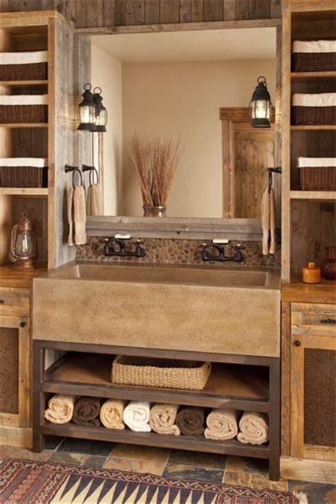 Lucky Pie Bathroom Concrete Sink 25 Best Ideas About Rustic Bathroom Vanities On