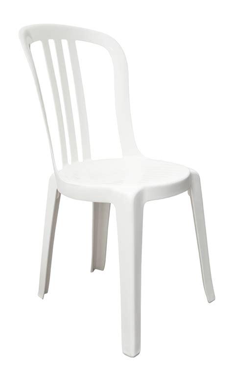 chaise de jardin blanche chaise de jardin miami bistrot grosfillex