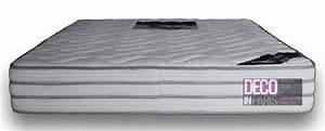 Deco in paris matelas memoire de forme 180 x 200 cm for Deco chambre enfant avec sommier et matelas memoire de forme 160x200