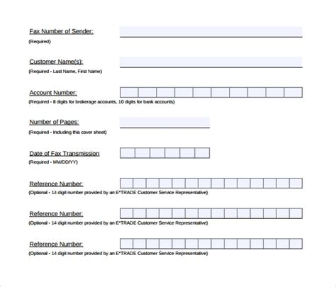 sample fax cover sheet   documents   word