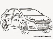 HD Wallpapers Coloring Pages Cop Cars