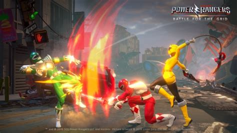 power rangers battle   grid announced  ps xbox