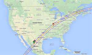 Total Solar Eclipse 2024 Path Map