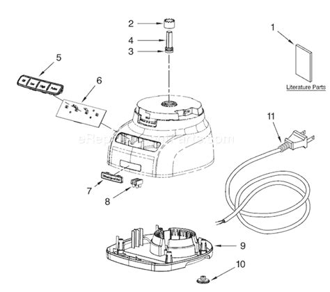 kitchen aid replacement parts kitchenaid kfp1333 parts list and diagram series 0