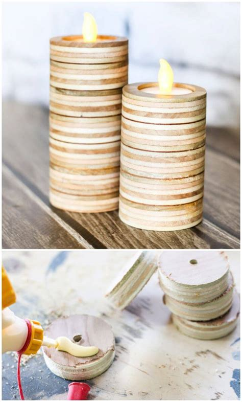 diy candle holder ideas    candle holders
