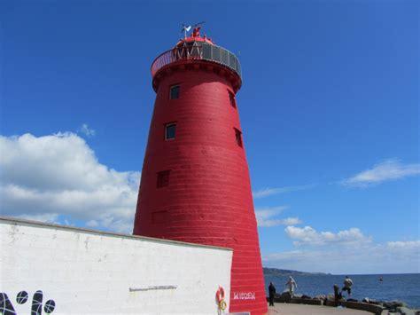 the poolbeg lighthouse great south wall dublin city 1820 curious ireland