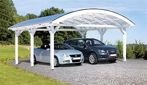 Carport Avec Abri : direct abris nouveau carport verone un abri voitures au design original et d une grande ~ Melissatoandfro.com Idées de Décoration