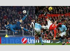 Wayne Rooney My overhead kick was better than Cristiano