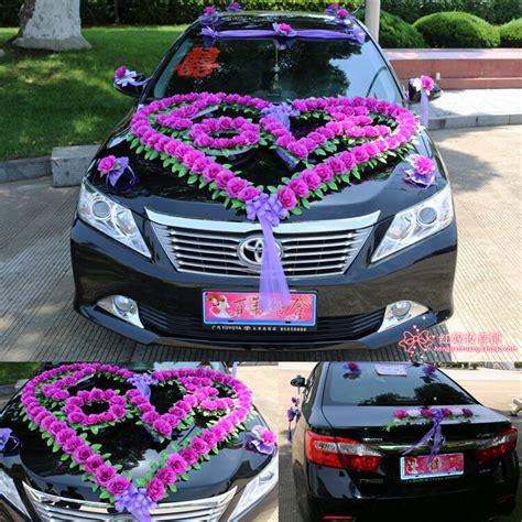 wedding car decorations car flowers propose necessary bridal car decoration a ebay