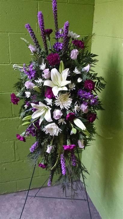 Funeral Floral Arrangements Spray Flower Arrangement Standing