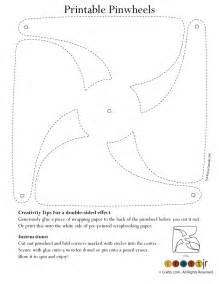 Color Your Own Pinwheel - Woo! Jr. Kids Activities