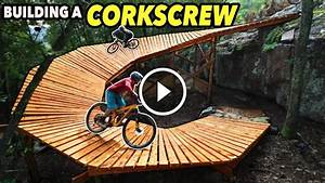 How To Build A Giant Wooden Corkscrew For Bikes  Video