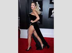 Rita Ora at 2018 GRAMMY Awards in New York City SAWFIRST