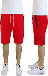 Galaxy By Harvic Size Chart Galaxy By Harvic Tech Fleece Solid Color Basic Shorts With