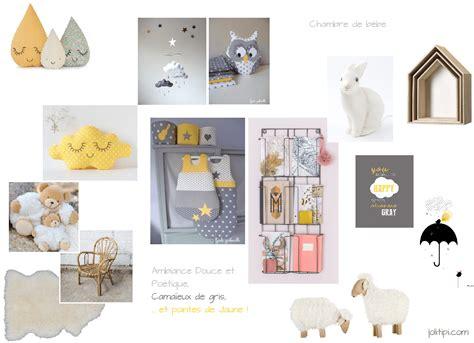 deco chambre gris et jaune zoom sur la future déco de chambre de bébé joli tipi