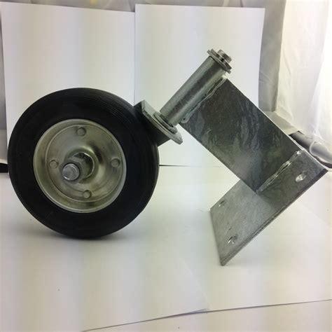 swing with chain kodiak kgw100 swing gate wheel for wood gates swivel