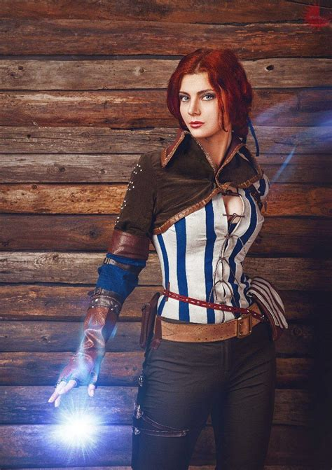 triss merigold from the witcher cosplay pinterest cosplay the o jays and triss merigold