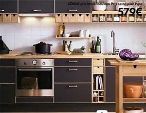Cuisine Industrielle Ikea : cuisine rouge ikea prix ~ Dode.kayakingforconservation.com Idées de Décoration