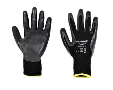 poly cotton polytril gloves honeywell safety