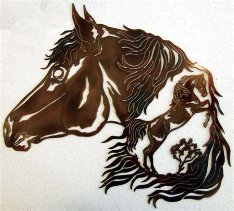 Home design ideas > wall art > metal horse wall art. HORSE STALLION WESTERN METAL ART RODEO RANCH HOME RUSTIC LODGE CABIN WALL DECOR | eBay