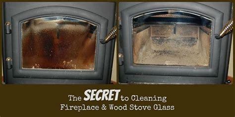 secret  cleaning glass  wood stoves  fireplaces