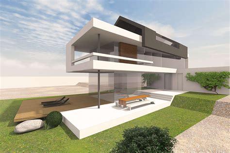 Moderne Häuser by Haus Mit Satteldach Moderne Architektur Home Ideen