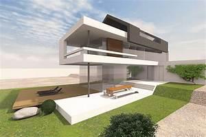 Modernes Haus Satteldach : haus mit satteldach moderne architektur home ideen ~ A.2002-acura-tl-radio.info Haus und Dekorationen