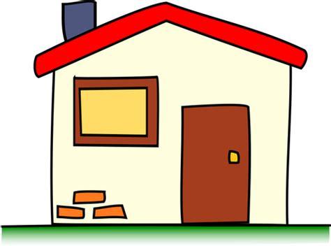 Einfachen Haus Vektor Clip Artbild  Public Domain Vektoren
