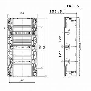 Dimension Tableau Electrique : tableau electrique hager dimension monde de l ~ Melissatoandfro.com Idées de Décoration