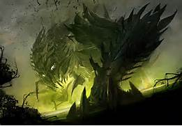 Shadow Monster Concept Art Shadow behemoth, is that you?