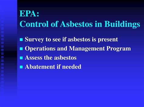 asbestos  health powerpoint