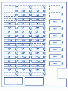 Bmw M6 2008 Main Fuse Box  Block Circuit Breaker Diagram