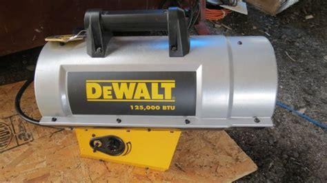 Dewalt Construction Heater Dxh125