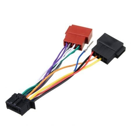 Pioneer Car Radio Wiring by Car Stereo Radio Player Iso Wiring Harness Connector 16pin
