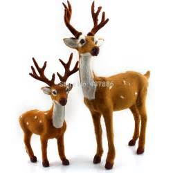decoration deer plush reindeer crafts navidad indoor or outdoor inchristmas