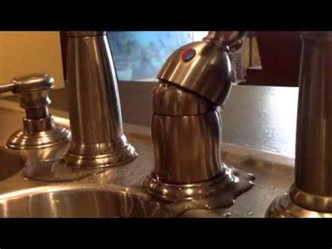 robinet delta qui fuit