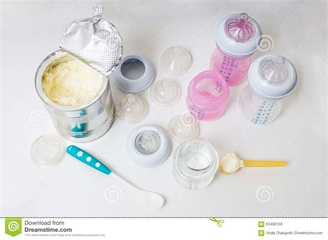 Bottles Nipples And Teats For Feeding Baby With Milk