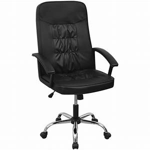 Fauteuil Pivotant Cuir : chaise si ge fauteuil de bureau pivotant en cuir ~ Teatrodelosmanantiales.com Idées de Décoration
